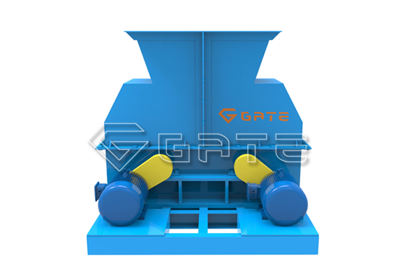 double shaft chain crusher