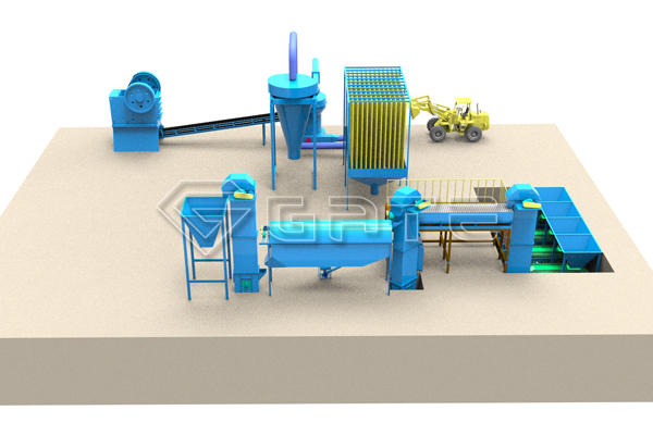 Supply bulk blending fertilizer production line