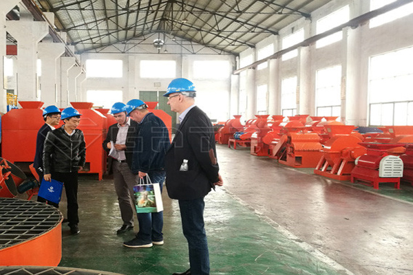 Australian Customers Visit Our Factory for 12-15 t/h NPK Fertilizer Production Line
