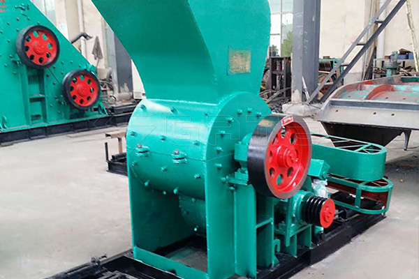 Gate chicken manure crusher can be used for organic fertilizer production