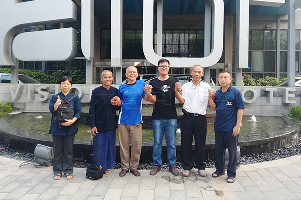 Thailand Customer Visist and Order 50,000 Ton/ Year Whole Organic Fertilizer Production Line