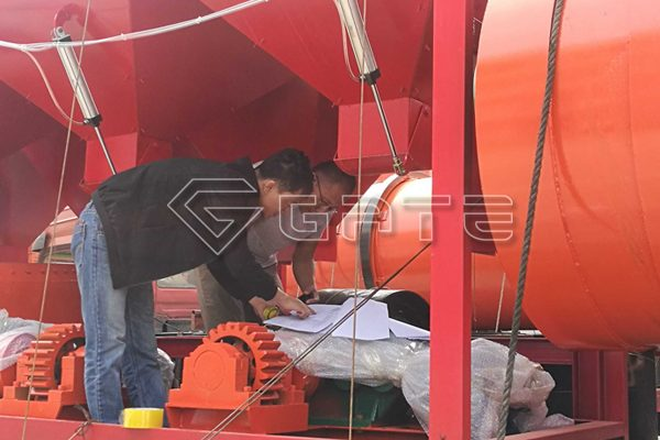 200,000 tons/Y of Gate fertilizer granulation production line sent to Tanzania