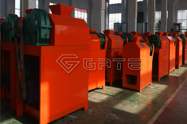 Why do you choose Gate when ordering the double roller fertilizer granulator?