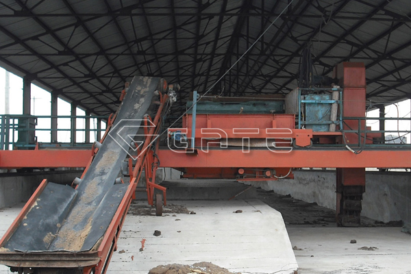 What is the effect of Gate compost turner machine for fertilizer?