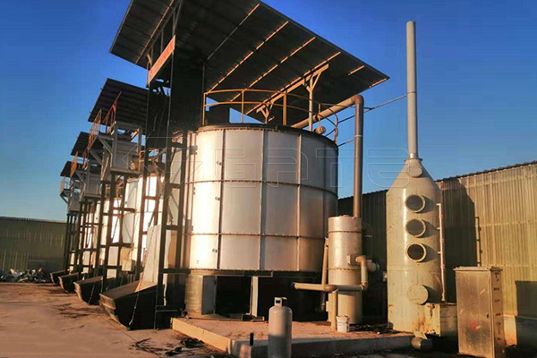 What are the advantages of Fertilizer Fermentation tank compared to traditional fermentation methods?