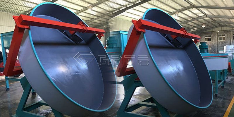 Disc granulator in NPK production lines2