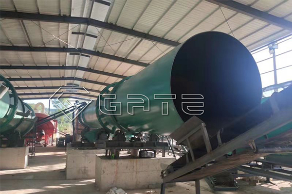 Pig manure organic fertilizer production line introduction