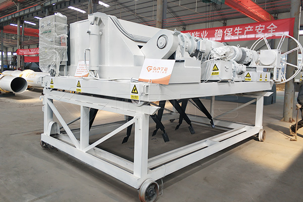 Structural characteristics of composting machine for organic fertilizer