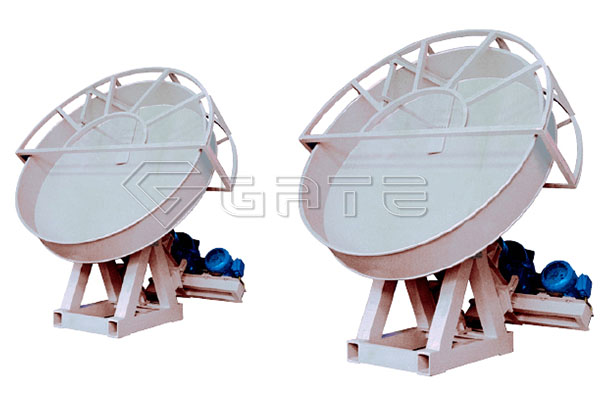 What are the components of fertilizer disc granulator?