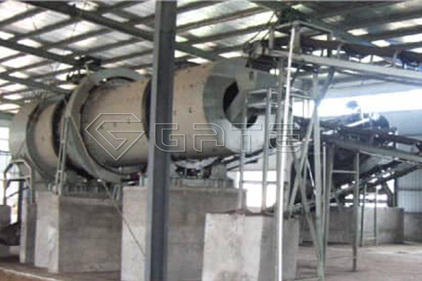Fertilizer production line equipment-drum granulator