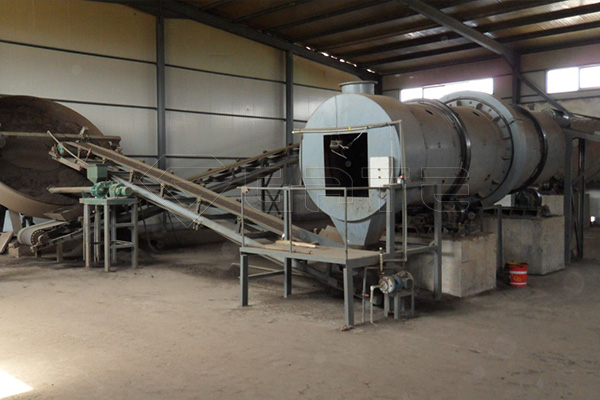What is the production process of organic fertilizer production line?